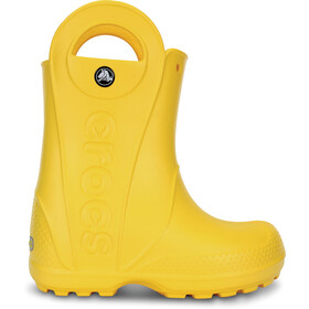 Crocs Handle It Regenstiefel Kinder yellow